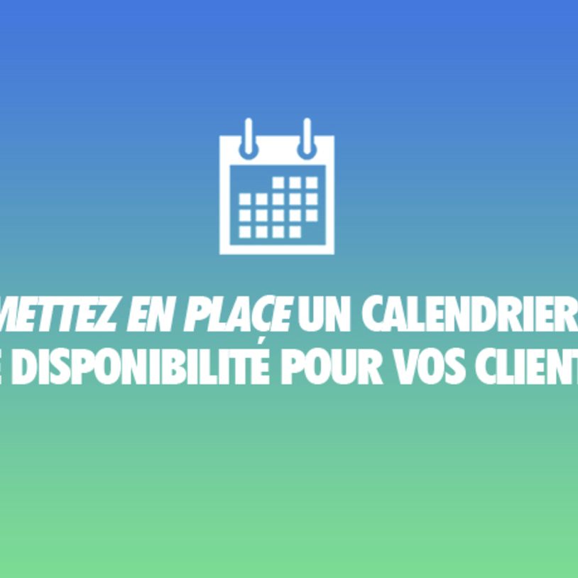 Solution gratuite : utiliser Google Agenda